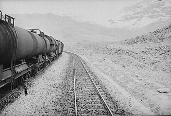 Für den Bau der  transiranischen Eisenbahn gründeten deutsche Firmen eigens ein Konsortium