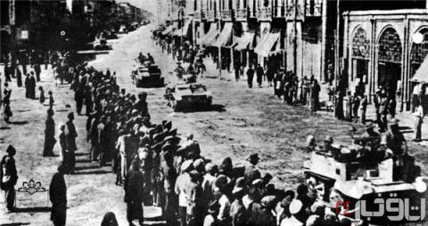 Während des ersten Weltkrieges wurde der Süden des Iran von den Briten besetzt und der Norden von den Russen!