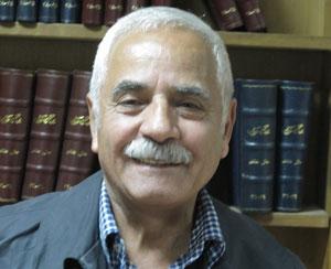 Der Dichter und Journalist Jalal Sarfaraz, Initiator der Zehn-Nächte-Lesungen