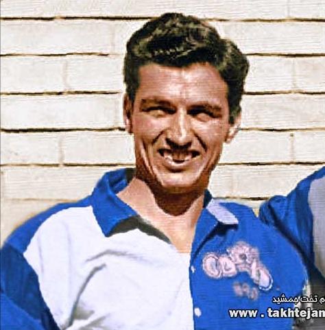 Biyuk Jadidkar, erster Fußball-Legionar des Iran