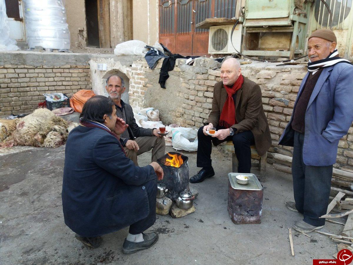 Michael Klor-Berchtold zu Besuch bei armen Menschen in Teheran