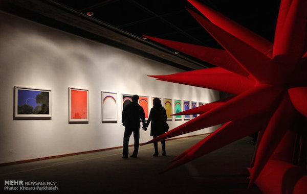 Werke von Otto Piene und der Gruppe Zero im Teheraner Museum für zeitgenössische Kunst (TMoCA)