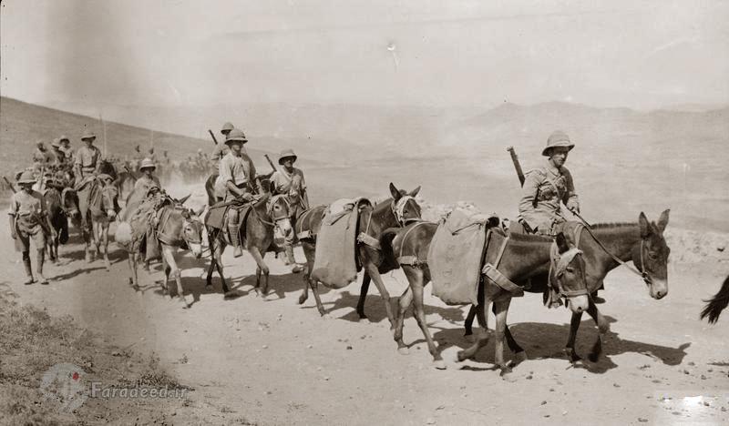 Britische Armee besetzt den ölreichen Süden des Iran - Foto: Faradeed.ir