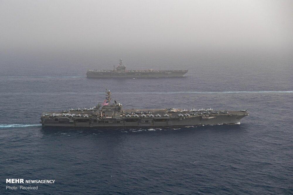 Flugzeugträger der USA im Persischen Golf