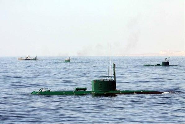 Irans U-Boote im Persischen Golf sind in Alarmbereitschaft!