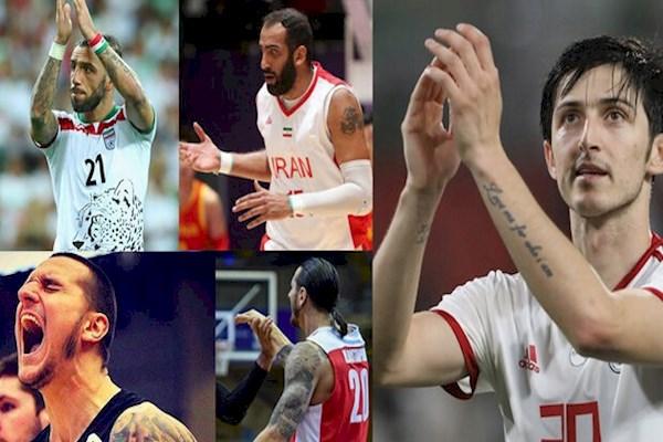 Die Sportfunktionäre des Iran haben lange Zeit versucht, Sportler mit Tattoos zum Verstecken ihrer Tätowierung zu zwingen - vergeblich! (Foto: iran-varzeshi.com)