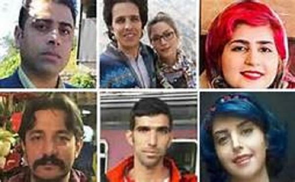 Die Arbeiteraktivist*innen Esmail Bakhshi, Sanaz Alhayari und ihr Ehemann Amirhossein Mohammadifard, Sepideh Gholian, Amir Amirgholi, Mohammad Khonifar und Assal Mohammadi wurden zu hohen Haftstrafen verurteilt!