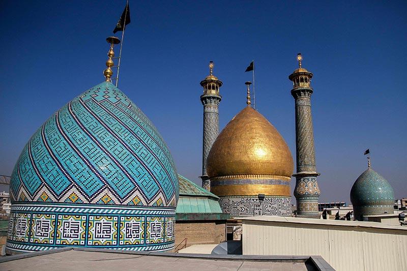 """Der Schrein von """"Shah-Abdolazim"""" gehört zu den Gebäuden in Teheran, die von der Bodenabsenkung betroffen sind!"""