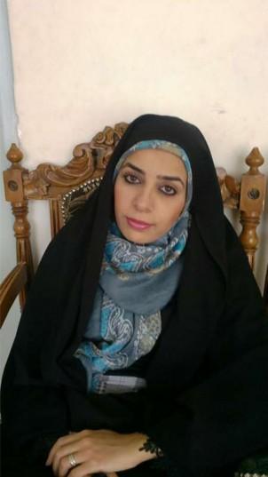 Die erste Bürgermeisterin der Kleinstadt Sarbaz, Samiyeh Balouch Zahi, in der südost-iranischen Provinz Sistan-Belutschistan.