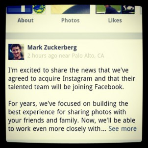 Mark Zuckerberg Foto: Facebook