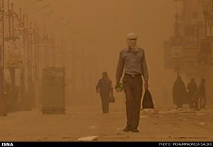 Feinstaub in der südiranischen Stadt Ahwaz