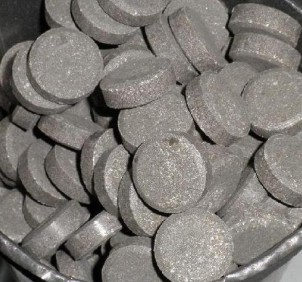 Aluminiumphosphid –Tabletten. Foto: erowid-opium.blogspot.com.
