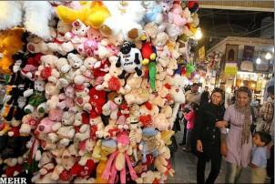 Der Teheraner Basar ist überfüllt mit Produkten aus Billigländern