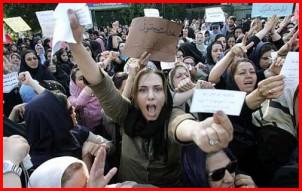 """""""Im Laufe der Zeit ist die Frauenbewegung dann der grünen Bewegung immer näher gekommen."""" - ّFoto: iran-e-sabz.org."""