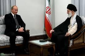 Russlands Präsident, Vladimir Putin, soll in Irans Staatsoberhaupt, Ali Khamenei. Jesus gesehen haben (Foto: Treffen beider Politiker in Teheran, 2007)