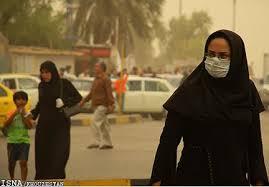 Viele tragen in Ahwaz Masken