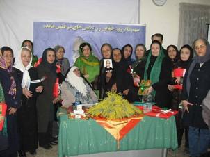 Dِie einzige Veranstaltung der Frauenaktivistinnen, die anlässlich des diesjährigen Frauentags im Iran stattfinden durfte!