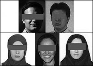So wurden die angeklagten Journalisten und Dokumentarfilmer in den iranischen Websites dargestellt.