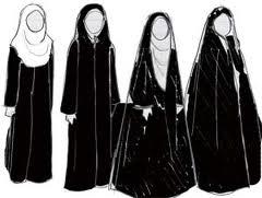 Nach Vorstellung der Konservativen sollen iranische Frauen so aussehen
