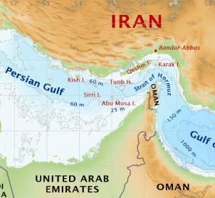 Abu Musa liegt an der Mündung der Straße von Hormuz zwischen dem Iran und den Vereinigten Arabischen Emiraten - also direkt an der wichtigen Wasserstrasse, über die täglich ein Drittel des weltweiten Erölbedarfs transportiert wird.