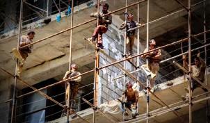 Bauarbeiter in Teheran