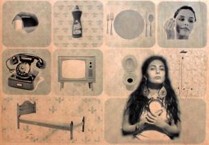 Ein Kunstwerk von Leila Rezvani