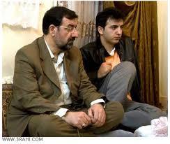Mohsen Rezaie und sein verstorbener Sohn Ahmad