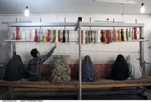 In der Teppichindustrie des Iran arbeiten bis zu 90 Prozent Frauen