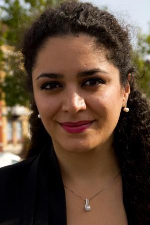 Die in Paris lebende iranische Frauenrechtlerin Soudeh Rad