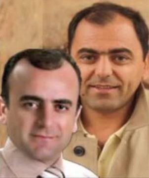 Die Brüder Masoud (li.) und Khosro Kordpour: die Menschenrechtsanktivisten wurden im November zu insgesamt neuen Jahren Haft verurteilt
