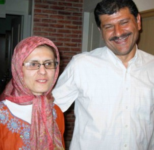 Bahman Ahmadi Amoui und seine Frau Jila Banijaghoub.