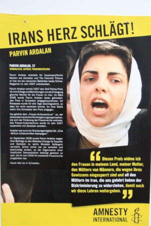 Die Frauenrechtlerin Parvin Ardalan