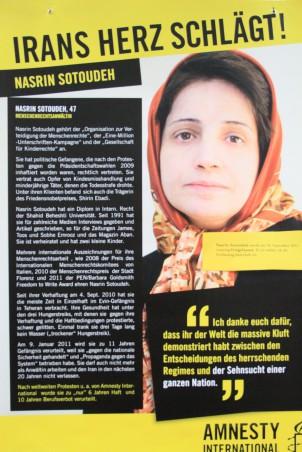 Menschenrechtsanwältin Nasrin Sotodueh