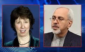 """Catherine Ashton bezeichnete das Gespräch mit Irans Außenminister (rechts) als """"konstruktiv"""" - Foto: eirib.ir"""