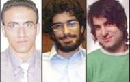 von Links:  Mohammad Kamrani, Mohsen Ruholamini und Amir Javadifar