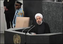 Rouhani vor der UN-Vollversammlung in New York