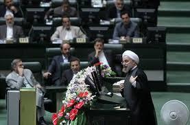 Rouhani hat immer wieder die Parlamentarier dazu aufgerufen, Meinungsunterschiede zu überwinden und gemeinsam in die Zukunft zu blicken.  Foto: iranvij.ir