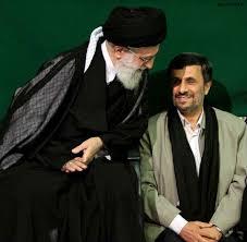 Gute Zeiten (Ahmadinedschad und das Staatsoberhaupt Ayatollah Khamenei) ...