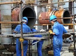Als Folge der Embargos arbeitet die iranischen Erdölindustrie im Schneckentempo