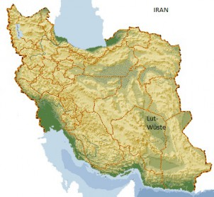 Die Lut-Wüste werde zum Transport von Drogen aus Afghanistan und Pakistan bentutzt, behaupten iranische Behörden