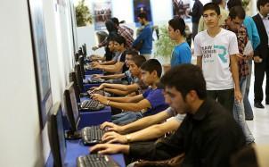 Internetcafe in Teheran. Foto: barsam.ir