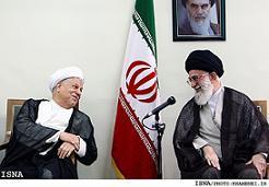 Alte Freunde und Rivalen: Rafsanjani (links) und Khamenei
