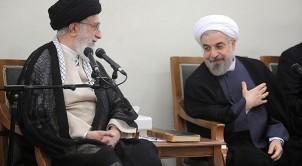Der Präsident (re.) hat dem religiösen Führer (li.) zu gehorchen