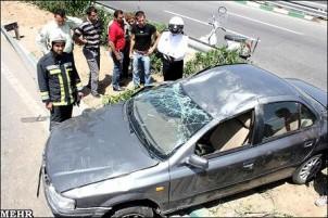 Im Durchschnitt sterben jährlich etwa 24.000 IranerInnen durch Verkehrsunfälle.