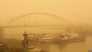 Landesweit hat die südiranische Stadt Ahwaz die am meisten versuchte Luft
