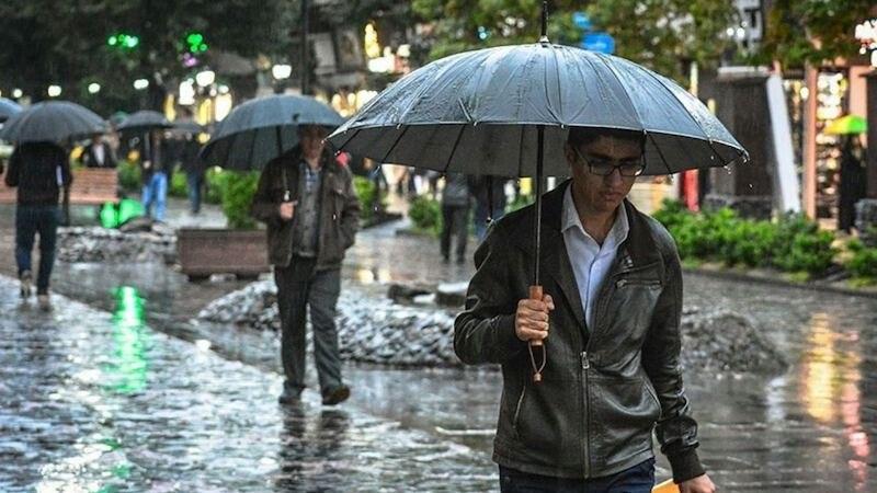 Starke Regenfälle
