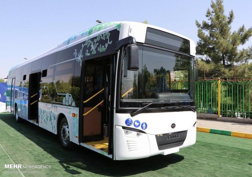 Irans erster Elektrobus vorgestellt