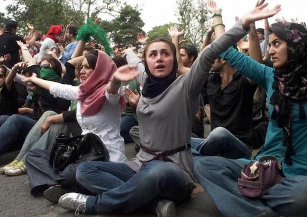 Die Proteste der Frauen