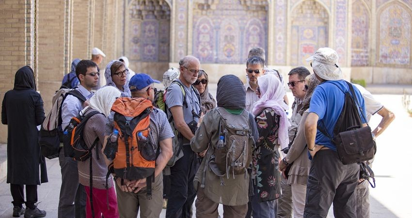 Iran-Tourismus um 70 Prozent eingebrochen