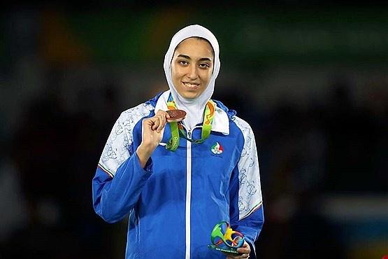 Irans einzige Olympiasiegerin wandert aus